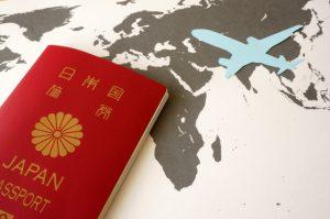 パスポート,飛行機