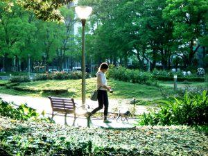 公園,散歩